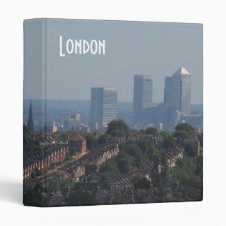 London Cityscape - Canary Wharf photo Binder
