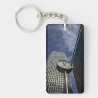 London Clock Keychain