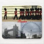 London Collage Mousepad
