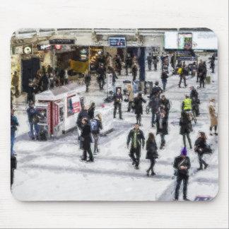 London Commuter Art Mouse Pad