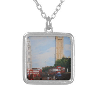 London Corner Silver Plated Necklace