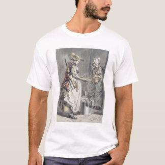 London Cries: A Milkmaid, c.1759 (pen & ink brush, T-Shirt