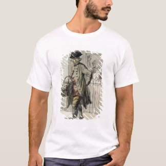 London Cries: A Muffin Man, c.1759 (w/c on paper) T-Shirt