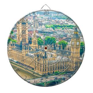London Dartboard With Darts