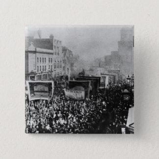 London Dock Strike, 1889 Button