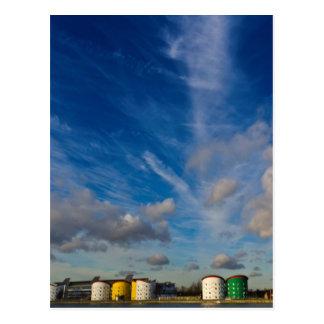 London Docklands Postcard
