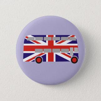 London Double Decker Bus Button