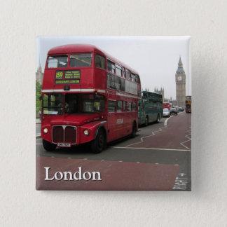 London Double-decker Bus Button
