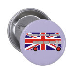 London Double Decker Bus Pinback Button