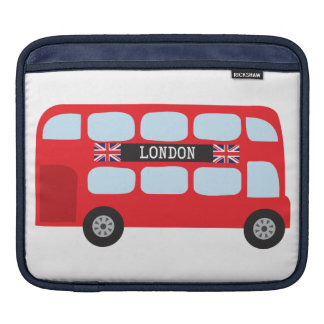 London double-decker bus sleeve for iPads