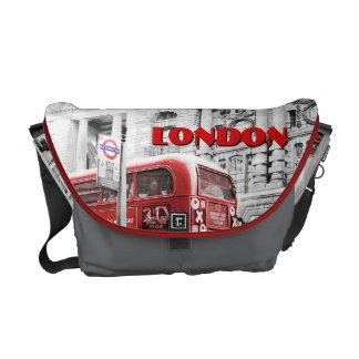 London Double Decker Messenger Bag