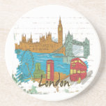 London Drink Coaster