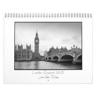 London, England - 2016 Calendar