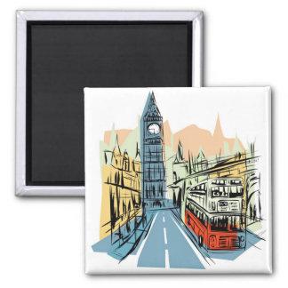 London England city scape magnet