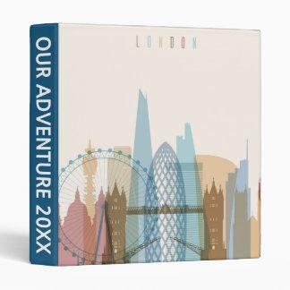 London, England | City Skyline Binder