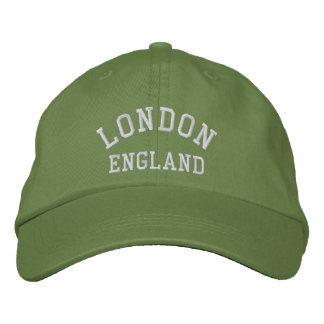 LONDON, England Embroidered Baseball Hat