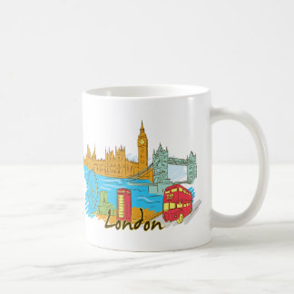 London England Famous City Coffee Mug