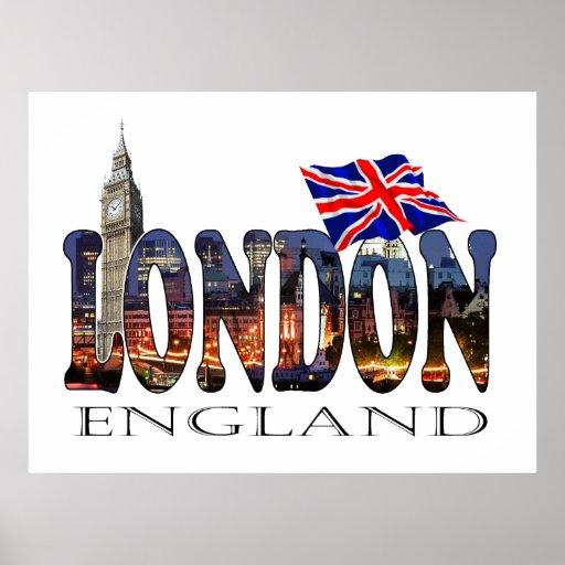 London England Poster