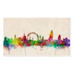 London England Skyline Business Card