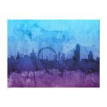 London England Skyline Canvas Prints