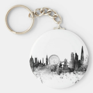 London England Skyline Keychain