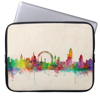 London England Skyline Laptop Sleeves