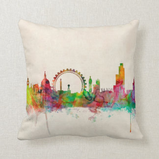 London England Skyline Pillows
