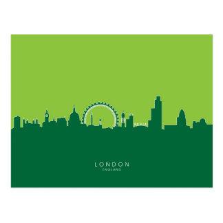 London England Skyline Postcard