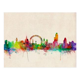 London England Skyline Post Cards