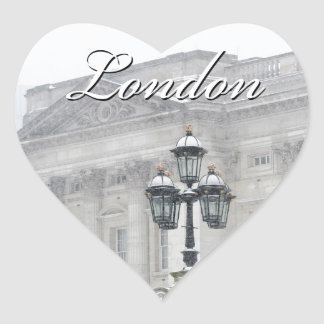 London England Heart Sticker