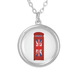 London England telephone box Custom Necklace
