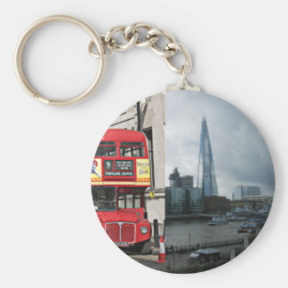 London England tourist sights Keychain