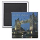 London England Travel Photo Souvenir Fridge Magnet