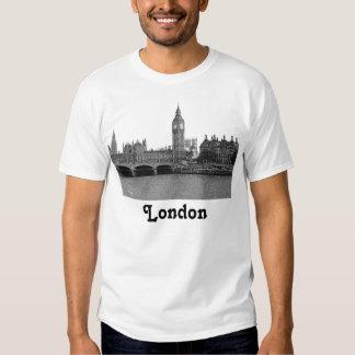 London England UK Skyline Etched Tshirts