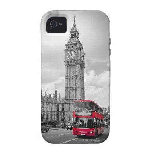 London England Vibe iPhone 4 Case