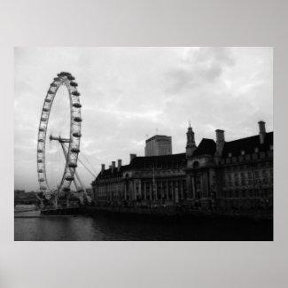 London Eye 2009 print