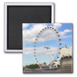 London Eye 2 Inch Square Magnet