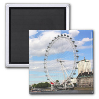 London Eye 2 Inch Square Magnet