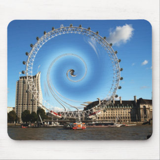 London Eye Abstract Mouse Pad