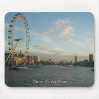 London Eye and Parliament Mouse Pad