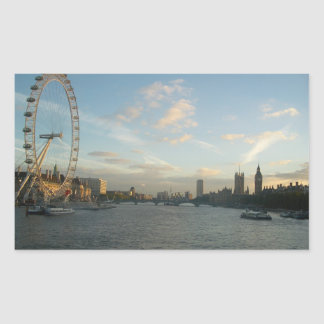 London Eye and Parliament Stickers