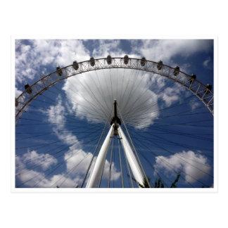 london eye arc postcard