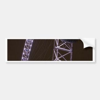London Eye at Night Car Bumper Sticker