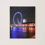 London Eye at Night Puzzle