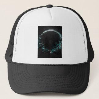 London eye at night trucker hat