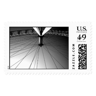 London Eye Black and white Postage