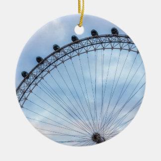 London Eye Blue Sky Ceramic Ornament
