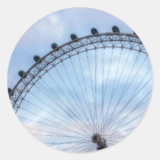 London Eye Blue Sky Sticker