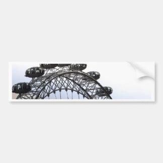 London Eye Car Bumper Sticker