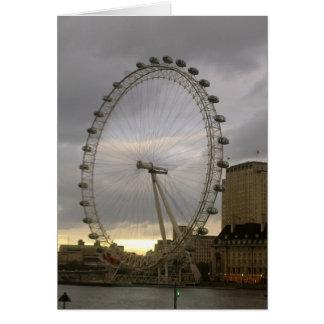 London Eye Card